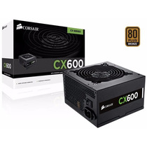 Fonte Corsair Atx 600w Cx600 - 80 Plus Bronze Cp-9020048-ww
