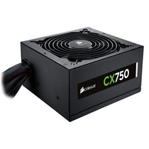 Fonte Corsair 750w Reais Cx750 80plus Pronta Entrega