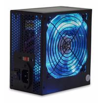Fonte 350w Reais G-fire Atx Gamer Com Led Azul Bivolt