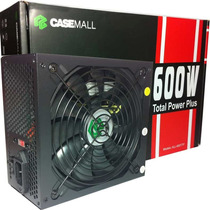 Fonte Casemall 600w Total Power Plus - All-600-ttp