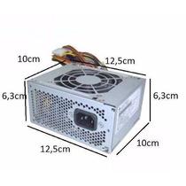 Fonte Atx Mini 300w 24 Pinos Sata Ide Hp Dell Itautec Lenovo