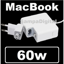 Fonte Carregador Macbook E Pro Apple Magsafe 60w 16,5v 3.65a