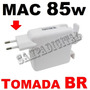 Fonte Carregador 85w Magsafe Apple Macbook E Pro 15 17 A1172