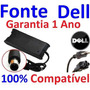 Fonte Carregador Notebook Dell 19.5v - Bivolt