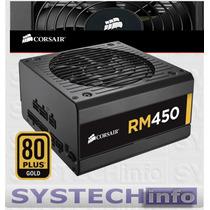 Fonte Corsair Modular 450w 80 Plus Ouro Pfc Ativo Rm450