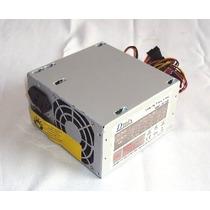 Fonte Atx 450w Nominal (230w Real) Para Computador Sem Cabo