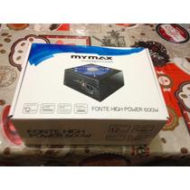Fonte Atx High Power 600w - Mymax