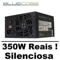 Fonte Atx Bluecase Box 350w Real Gamer Super Silenciosa
