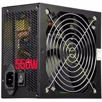 Fonte Atx 500w Reais Power-x Black Super Silenciosa Com Nf-e