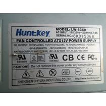 Fonte Atx 250w Huntkey 20 Pinos + 4 Pinos 12 Volts + Ide
