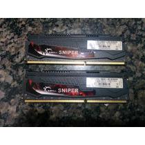 Memória G.skill Sniper 8gb (2x4gb) Ddr3 1600mhz