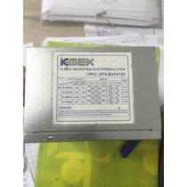 Fonte Atx 24pinos Sata Kmex 200w Model Px 300rng