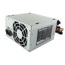 Fonte 230w Atx Bivolt Mymax C/ Cabo De Energia P/ Desktop