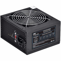 Fonte Atx 600w Real / 600w Reais 24 Pinos 4 Sata High Power