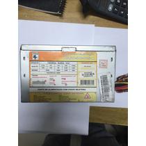 Fonte Atx 24pinos Sata Wise 200w Model Wscw-500-p4s-k