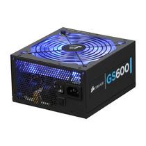 Fonte Corsair Gamer Gs600 600w Reais Cmpsu-600g-ww