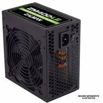 Fonte Atx Zalman 400w V2.3 Zm400-le Black Cooler 120mm 12v