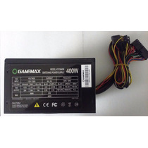 Fonte Atx 400w Gamemax - Cooler 120mm Silencioso