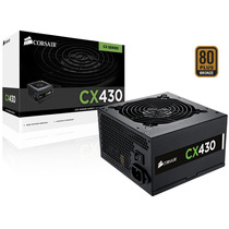 Fonte 80plus Bronze Corsair Cx430 Atx 430w Pfc Ativo