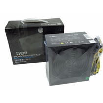 Fonte Para Pc 500w Real Px500 Hoopson Simply Life