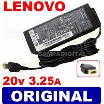 Fonte Carregador Para Notebook Lenovo G400s Plug Retangular