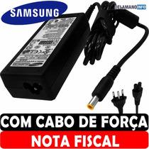 Carregador Fonte Samsung Rv410 Rv411 Rv415 Rv430 19v * 3.16