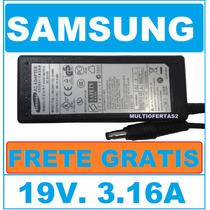 Fonte Carregador Original Samsung 19v3,16a Rv411 Rv415 Nc215