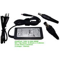 Fonte Carregador Original Samsung Rv411-ad3b 19v 3,16 Sm1510