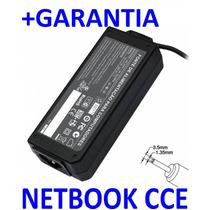 Carregador 19v 2.1a P/ Netbook Cce Winbook N23s N22s (ft*125