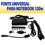 Fonte Carregador Universal Notebook Itautec Acer Hp Positivo