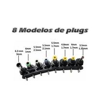 Kit Com 8 Conector Plug Pino Fonte Universal Reposição