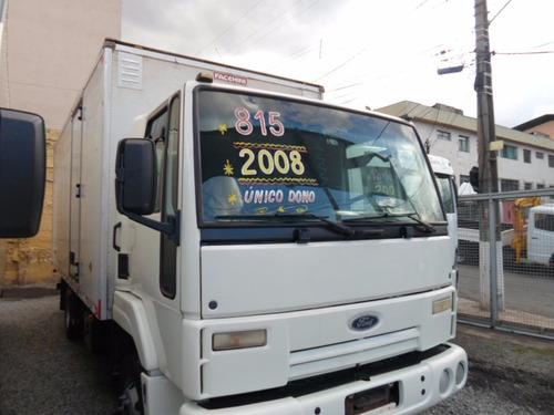 Ford Cargo 815 Baú