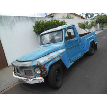 Ford F75 Pick Up Caçamba De Lata Docks Ok P/ Restaurar