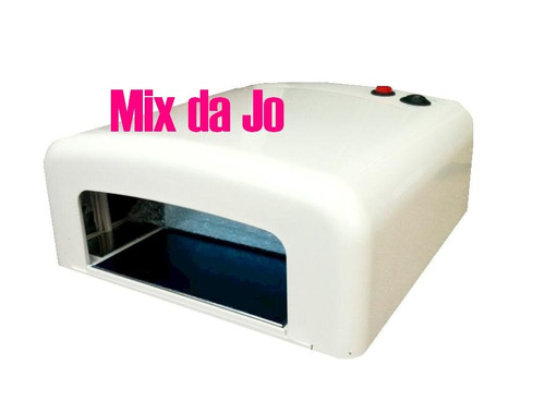 Forno (cabine) 36w 110v Para Unhas De Gel + 4 Lâmpadas!