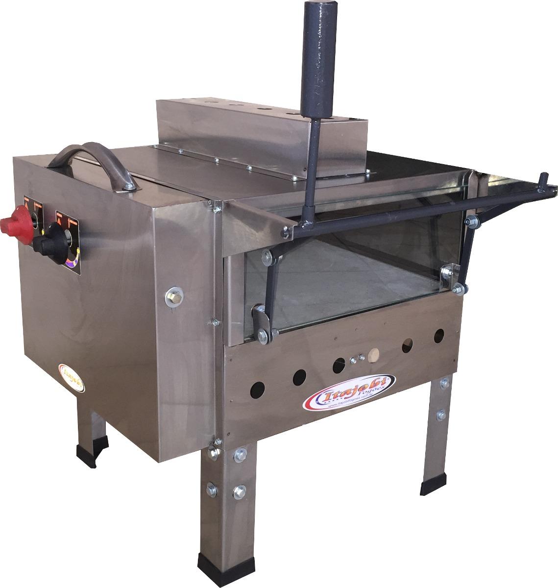 Forno pizza industrial a g s c infravermelho e refrat ria for Forno a gas