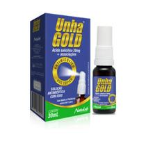 Unha Gold Para Tratamento De Unhas Com Micoses 30ml