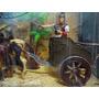 Biga Romana Carruagem Diligencia Apache Velho Oeste 1:18