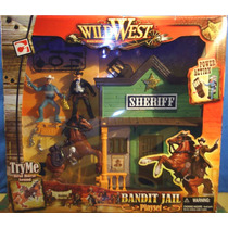 Cidade Do Oeste Bandit Jail Chap Mei Wild West Brinqtoys