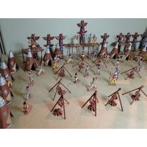 143 Peças Acampamento Pele Vermelha Apache Faroeste