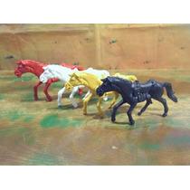 4 Cavalos Estilo Gulliver Atlantic Brinqtoys Forte Apache
