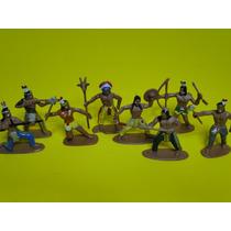 08 Indios Apaches Em Posições De Combate Compativel Gulliver