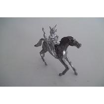 Soldado Chumbo #132 Forte Apache Índio C/ Lança + Cavalo