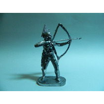 Soldado Chumbo #39 Forte Apache Índio Arco E Flexa 7,5 Cm