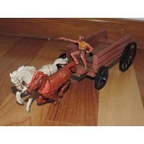 Carroça Gulliver Casablanca Cavalos E Cowboy