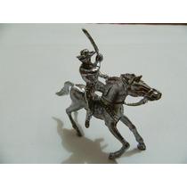Soldado Chumbo #154 Forte Apache Soldado C/ Espada P/ Cavalo