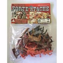 Forte Apache Conjunto C/ 12 Figuras Índios 0065 Gulliver