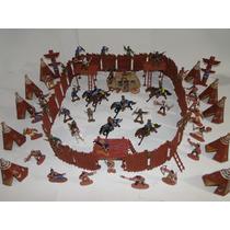 Forte Apache Gulliver Paliçada Carroça Indio Cavalo Cowboy