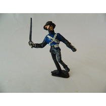 Gulliver Serie Zorro Soldado Com Espada Original