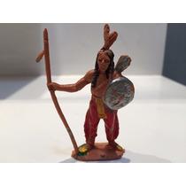 Forte Apache Não Gulliver Índio Jecsan Lança E Escudo