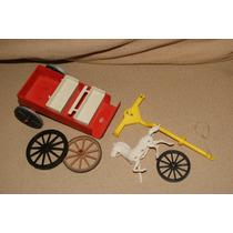 Brinquedo Antigo Carroça Lote De Peças -gulliver-estrela-